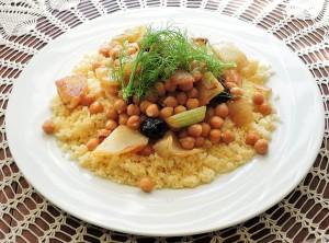 La femme et la cuisine nord-africaine