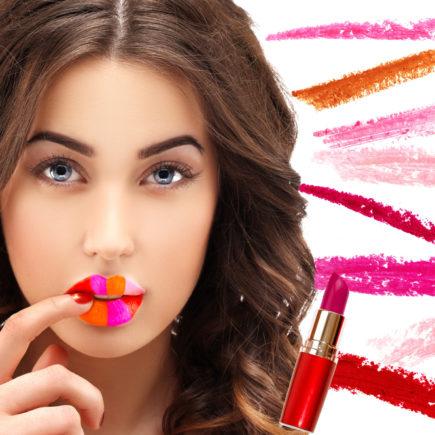 choix de rouge à lèvre